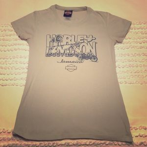 Harley Davidson Fitted Tee from Jamaica